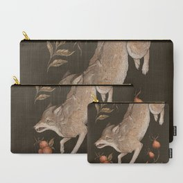 The Wolf and Rose Hips Carry-All Pouch