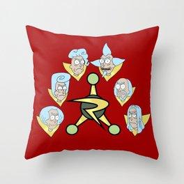 Council of Ricks Throw Pillow
