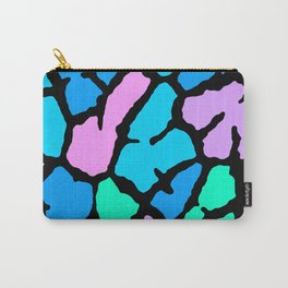 Pastel Giraffe Print Carry-All Pouch