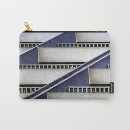 High Rise Abstract Carry-All Pouch
