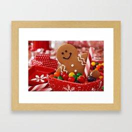 gingerbread 2 Framed Art Print