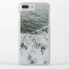 waves xi Clear iPhone Case