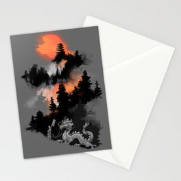 A samurai's life Stationery Cards