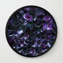 Purple Pond Wall Clock