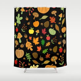 Autumn Design Shower Curtain