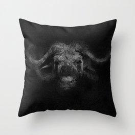 Sacred Bufalo Bull Throw Pillow