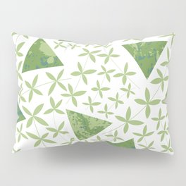 Shapes in Nature : Green Pillow Sham