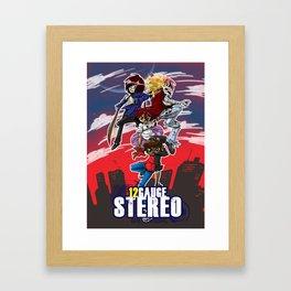 12 gauge stereo 2 Framed Art Print