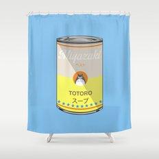 My Neighbor Toto ro - Miyazaki - Special Soup Series  Shower Curtain