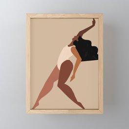 Let's dance Framed Mini Art Print