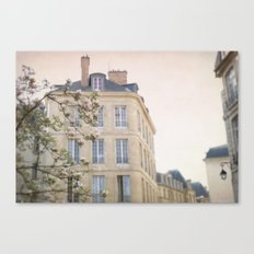 Paris Blooms Canvas Print