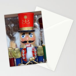 Three colorful nutcrackers Stationery Cards