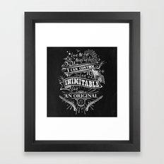 Hamilton - Inimitable Framed Art Print
