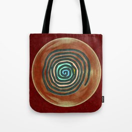 Tribal Maps - Magical Mazes #02 Tote Bag