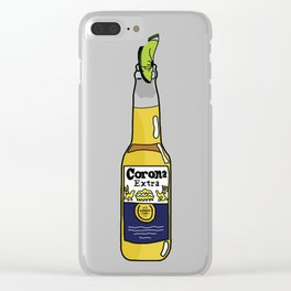Summer of Corona Clear iPhone Case