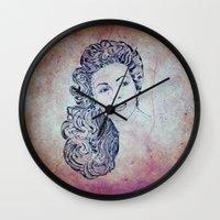 lana Wall Clocks featuring Lana by Rabassa