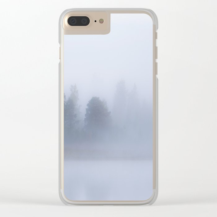 Foggy Morning #decor #buyart #society6 Clear iPhone Case
