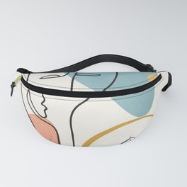 Abstract Faces 32 Fanny Pack