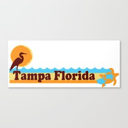 Tampa - Florida. Canvas Print