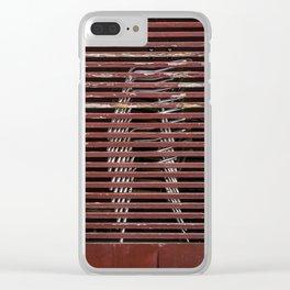 beach cafe Clear iPhone Case