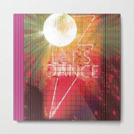 Let's Dance Metal Print
