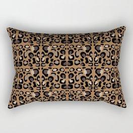 Leopard Suede Rectangular Pillow