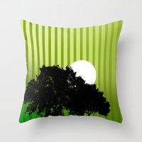 virginia Throw Pillows featuring Virginia  by Tdrisk46