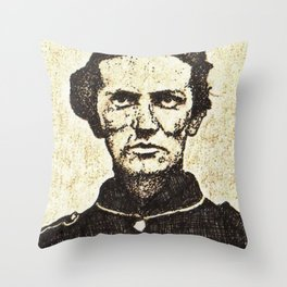 sgt george c whitecar Throw Pillow