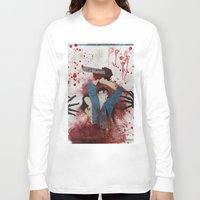 evil Long Sleeve T-shirts featuring Evil by Spectacle Photo