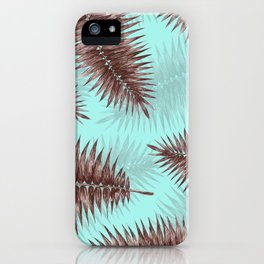 Palm Fronds 1 iPhone Case