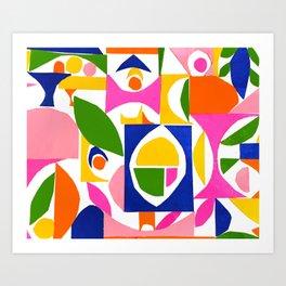 tango in the lemon tree ... Art Print
