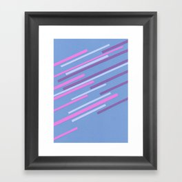 Speed III Framed Art Print