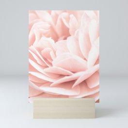 Pink Rose Petals ll Mini Art Print