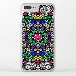 Color Bandana Clear iPhone Case
