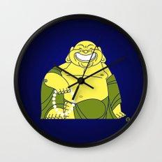 Smiling Buddha Wall Clock