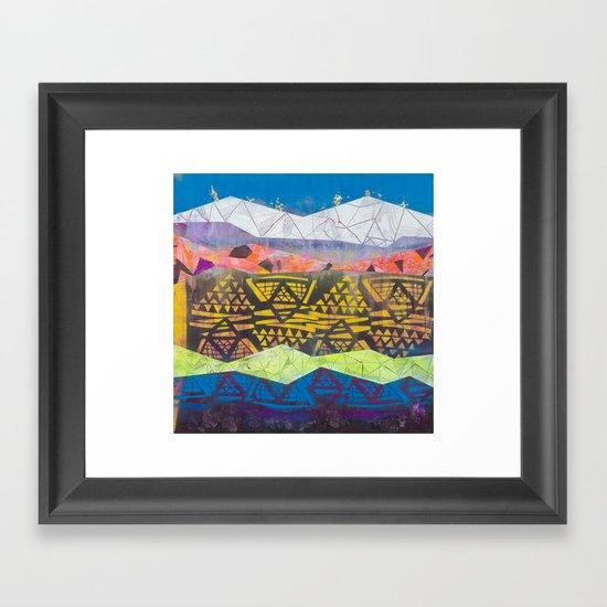 tropical fantasy soda Framed Art Print