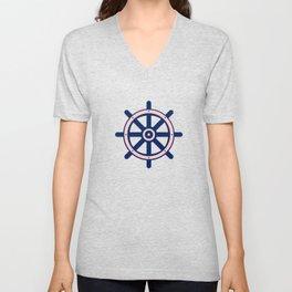 AFE Nautical Helm Wheel 2 Unisex V-Neck