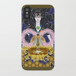 Pure Mother Bee iPhone Case