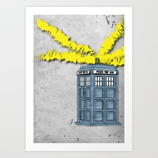 The Doctor Is In Art Print By Jarom Ward Society6