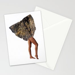 Monolithic Woman - First Step Stationery Cards
