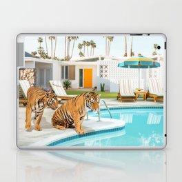 Tigers at the Pool Laptop & iPad Skin