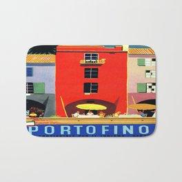 Vintage poster - Portofino Bath Mat