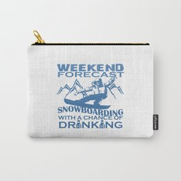 WEEKEND FORECAST SNOWBOARDING Carry-All Pouch
