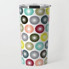Geometric Pattern 243 (colorful stars) Travel Mug