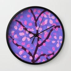 Cherry Blossom Tree Wall Clock