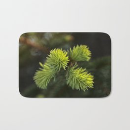 New Growth Pine Needles Bath Mat