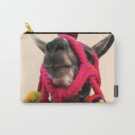 Colorful llama from Peru Carry-All Pouch