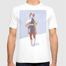 Chun-Li LARGE Mens Fitted Tee White