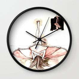 Ballet&leather Wall Clock