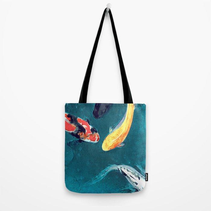 Water Ballet Tote Bag